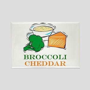 Broccoli Cheddar Soup Rectangle Magnet