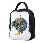 Hiker's Soul Compass Earth Neoprene Lunch Bag