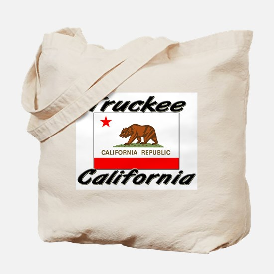 Truckee California Tote Bag