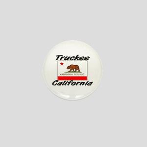 Truckee California Mini Button