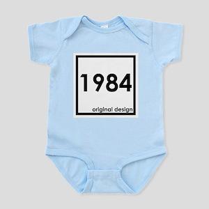 1984 year birthday original designs age Body Suit