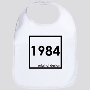 1984 year birthday original designs age Bib