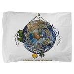 Hiker's Soul Compass Earth Pillow Sham