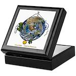 Hiker's Soul Compass Earth Keepsake Box
