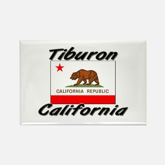 Tiburon California Rectangle Magnet