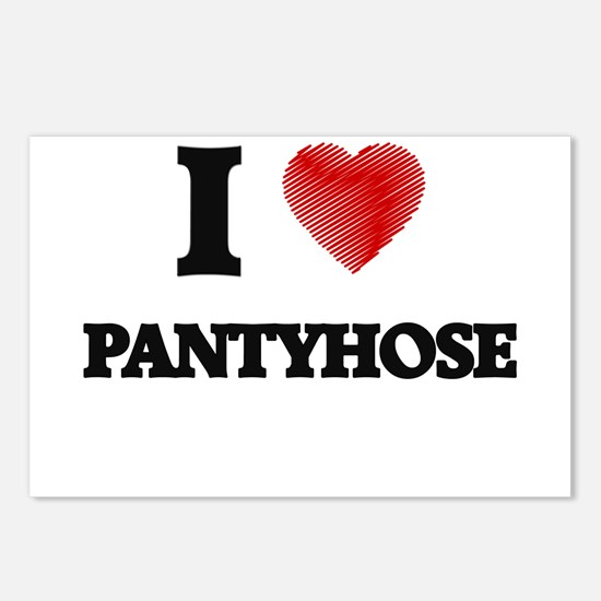 I Love Pantyhose Postcards (Package of 8)