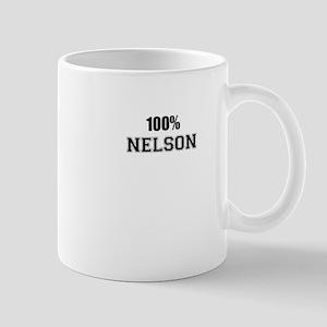 100% NELSON Mugs