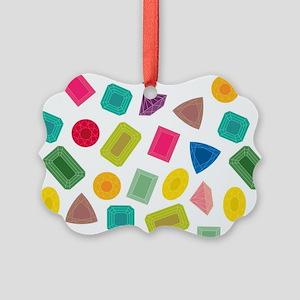 Gem Pattern Ornament