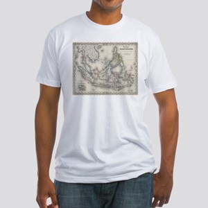 Vintage Map of Indonesia and The Philippin T-Shirt