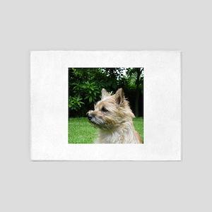 cairn terrier wheaton 5'x7'Area Rug