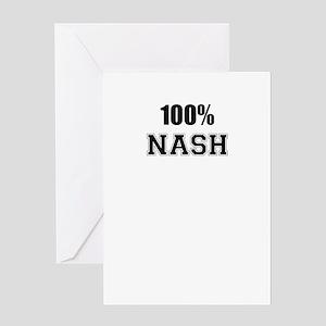 100% NASH Greeting Cards