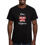 Fire Fighter Men's Fitted T-Shirt (dark)