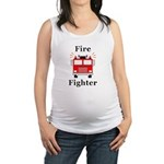 Fire Fighter Maternity Tank Top