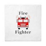 Fire Fighter Queen Duvet