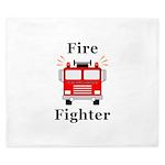 Fire Fighter King Duvet