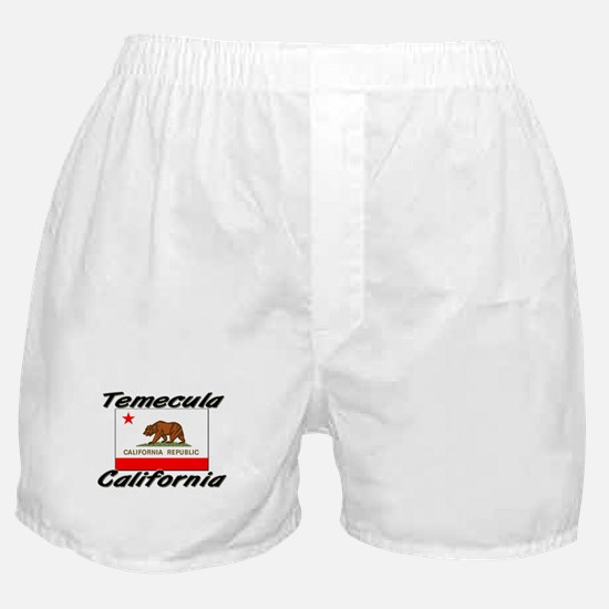 Temecula California Boxer Shorts