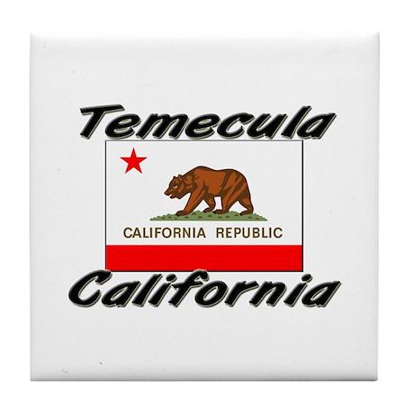 Temecula California Tile Coaster