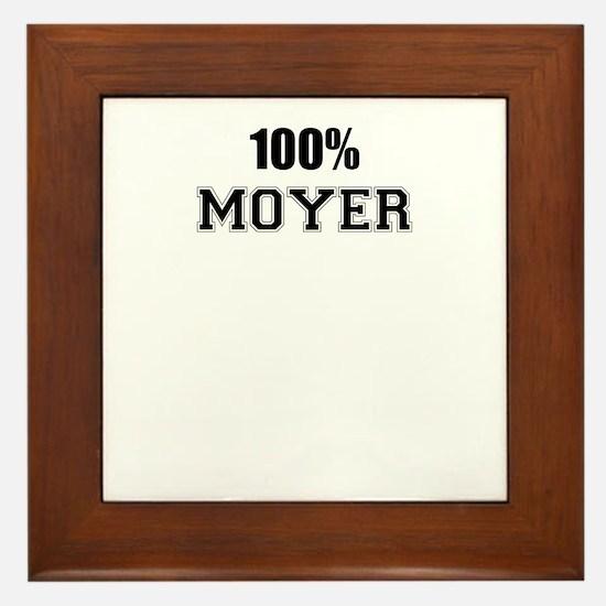 100% MOYER Framed Tile