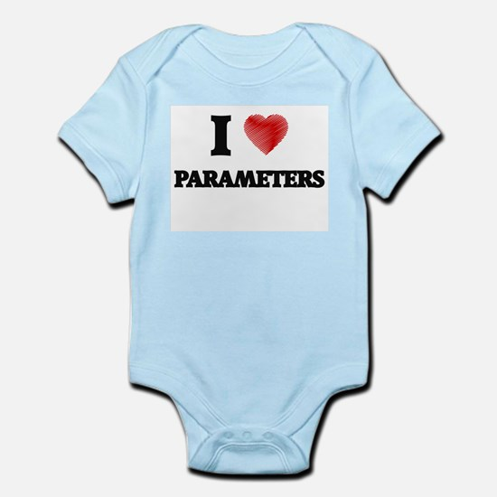 I Love Parameters Body Suit