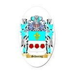 Schoning Oval Car Magnet