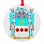 Schoner Round Ornament