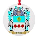 Schone Round Ornament