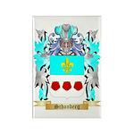 Schonberg Rectangle Magnet (10 pack)