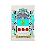Schonberg Rectangle Magnet (100 pack)