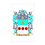 Schonberg Sticker (Rectangle)