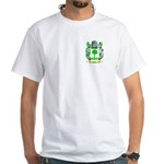 Scholz White T-Shirt