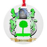 Scholtens Round Ornament