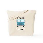 Truck Driver Tote Bag