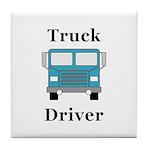 Truck Driver Tile Coaster
