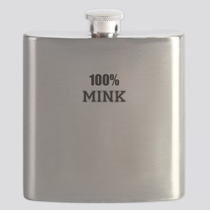 100% MINK Flask