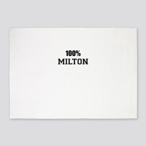 100% MILTON 5'x7'Area Rug
