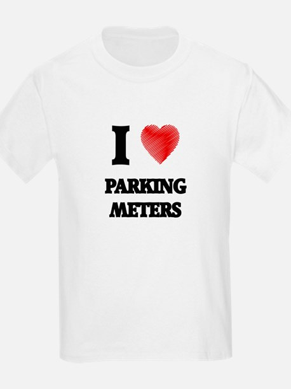 I Love Parking Meters T-Shirt