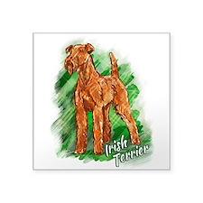 Irish Terrier Square Sticker 3