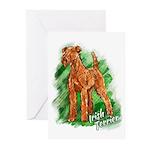 Irish Terrier Greeting Cards (Pk of 20)