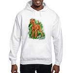 Irish Terrier Hooded Sweatshirt