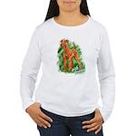Irish Terrier Women's Long Sleeve T-Shirt