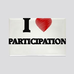 I Love Participation Magnets