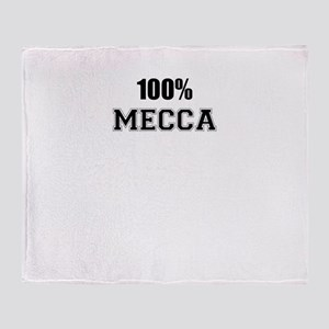 100% MECCA Throw Blanket