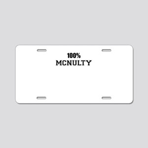 100% MCNULTY Aluminum License Plate