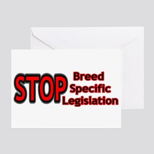 STOP BSL Greeting Cards (Pk of 10)