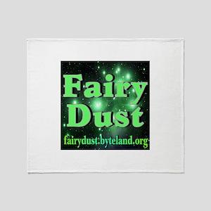 Fairy Dust Throw Blanket
