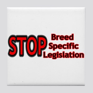 STOP BSL Tile Coaster