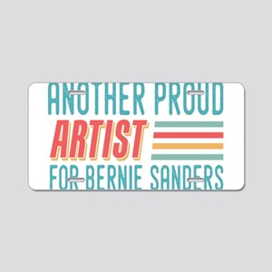 Another Proud Artist For Bernie Aluminum License P