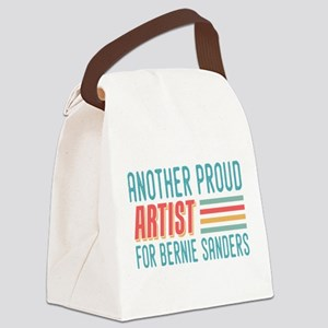 Another Proud Artist For Bernie Canvas Lunch Bag