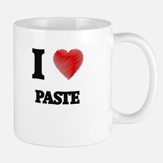 I Love Paste Mugs