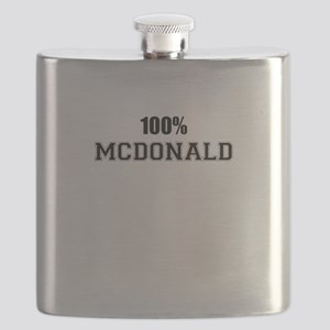 100% MCDONALD Flask